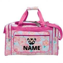 Custom Name Dance Weekender Bag