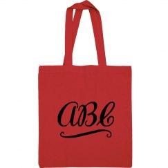 Custom Initials Dance Sport Bag