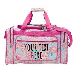 Custom Weekender Travel Bags