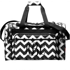 Personalized Monogram Travel Bag
