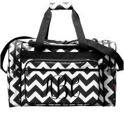 Personalized Monogram Travel Bag