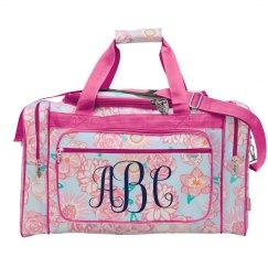 Custom Monogram Bag For Teens