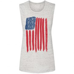 Six Pack Distressed Flag