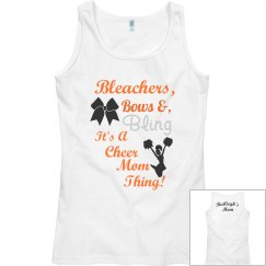 Cheer Mom Thing Tank