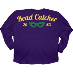 Mardi Gras Custom Bead Catcher