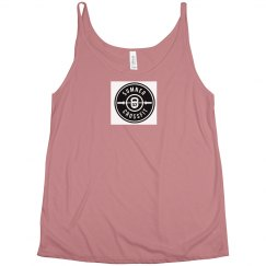 SCF logo 3 ladies tank