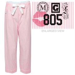 MGF Sleepy Kisses Pajama Bottoms