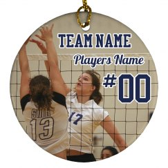 Custom Volleyball Player Design