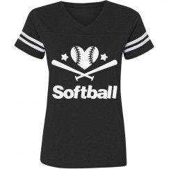 Softball all stars tee