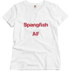 Spanglish AF Tee