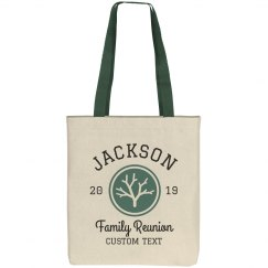 Family Reunion Customizable Tree Totes
