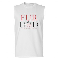 Fur Dad (Men's Sleevless T-Shirt)