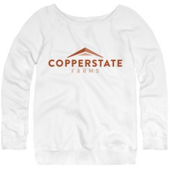 Copperstate Farms Misses Slouchy Sweatshirt
