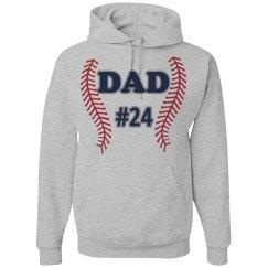 Baseball Dad Hoodie