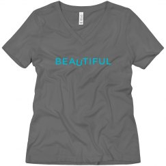 BEAuTIFUL V-neck T
