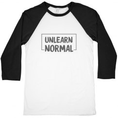 UnlearnNormal Unisex Raglan