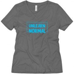 UnlearnNormal V-neck T