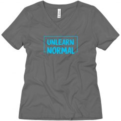 UnlearnNormal V-neck T
