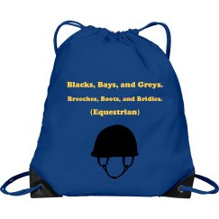"""Blacks, Bays, and Greys"" Bag"