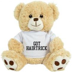 Got hairtrick lion stuffed animal