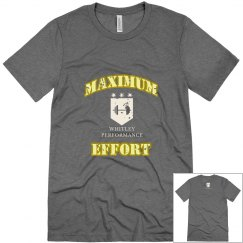 Maximum Effort Yellow Gold Logo