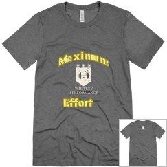 Maximum Effort Yellow Gold Logo