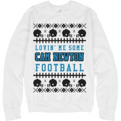 Loving Cam Newton Ugly Sweater