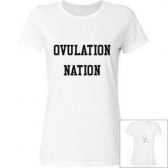 Ovulation Nation basic T-Shirt