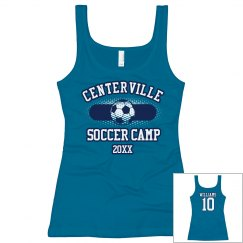 Soccer Camp Tank w/ Back
