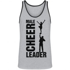 Male Cheerleader Pride Sports Tank Top