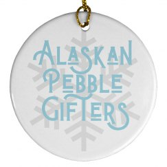 Alaskan Pebble Gifters Ornament