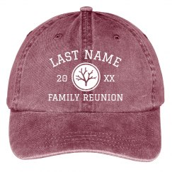 Create Custom Reunion Hats for the Whole Family