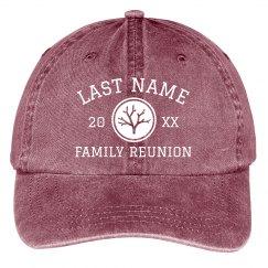 Create Custom Reunion Hats for the Whole Family
