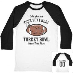 Turkey Bowl Game Jerseys