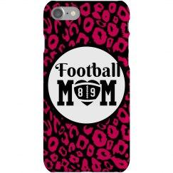 Neon Cheetah Football Mom