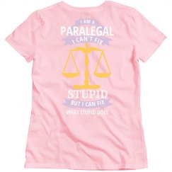 Paralegal fixes stupid womens edition