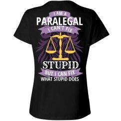 Ladies Paralegal Tee
