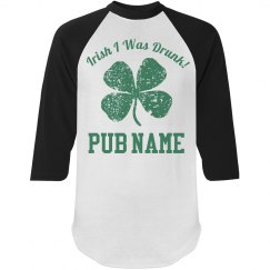 Custom Irish Business Drinking