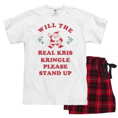 Funny Kris Kringle Stand Up