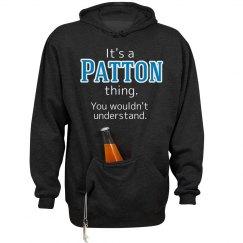 Its a Patton thing