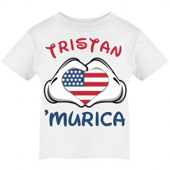 Patriotic Boy Magical Vacation T