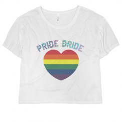 Pride Bride Heart Crop