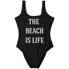 The Beach Is Life Swim Suit