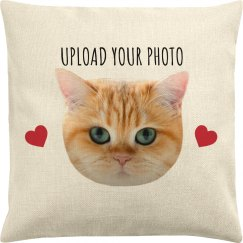 Upload Your Custom Pet Photo Pillowcase