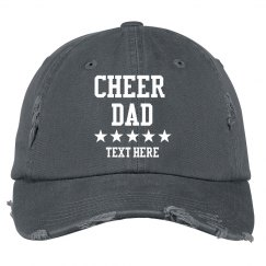 Custom Cheer Dad Hat