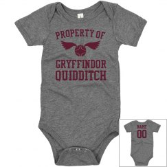 Baby Property OF Gryffindor Quidditch