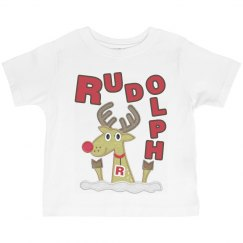 Rudolph Christmas Tee