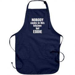 Eddie is the cook!