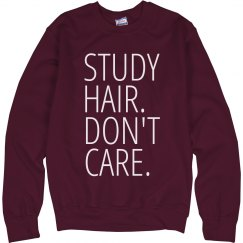 Study Hair. Don't Care