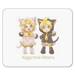 Neko Rin and Len Mousepad